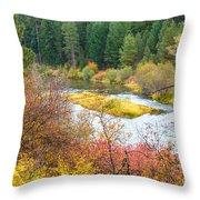 Sprague River Oregon Throw Pillow