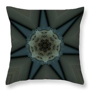 Kaleidoscope Star Throw Pillow