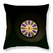 Kaleidoscope Window  Throw Pillow