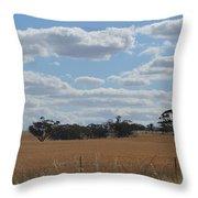 Kalgoorlie Countryside Throw Pillow