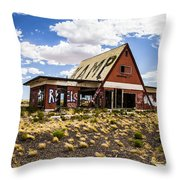 Kamp Throw Pillow