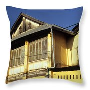 Kampot Old Colonial 01 Throw Pillow