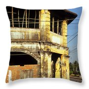 Kampot Old Colonial 03 Throw Pillow