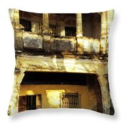 Kampot Old Colonial 05 Throw Pillow