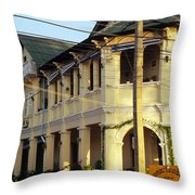 Kampot Old Colonial 07 Throw Pillow