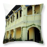 Kampot Old Colonial 08 Throw Pillow