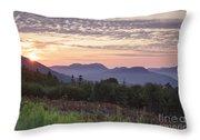 Kancamagus Highway - White Mountains New Hampshire Usa Throw Pillow