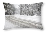 Kancamagus Scenic Byway - White Mountains New Hampshire Usa Throw Pillow by Erin Paul Donovan