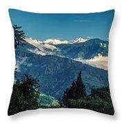 Kanchenjunga Throw Pillow