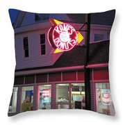 Kanes Donuts Throw Pillow