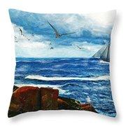 Kangaroo Island Throw Pillow
