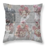 Kansas City Chiefs Legends Throw Pillow