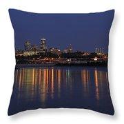 Kansas City Throw Pillow