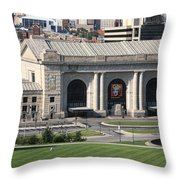 Kansas City - Union Station Throw Pillow