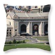 Kansas City - Union Station Throw Pillow
