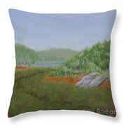 Kantola Swamp Throw Pillow