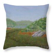 Kantola Swamp Throw Pillow