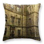 Kanturk Castle Throw Pillow
