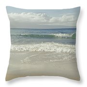 Kapalua - Aia I Laila Ke Aloha - Honokahua - Love Is There - Mau Throw Pillow