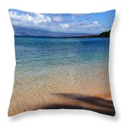 Kapalua Bay Maui Throw Pillow