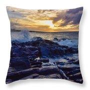 Kapalua Sunset Throw Pillow