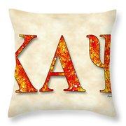 Kappa Alpha Psi - Parchment Throw Pillow