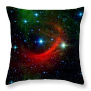 Kappa Cassiopeiae Shock Wave Throw Pillow