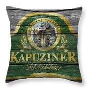 Kapuziner Throw Pillow