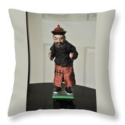 Karate Kid Throw Pillow