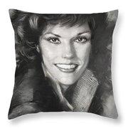 Karen Carpenter Throw Pillow