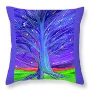 Karen's Tree 1 Throw Pillow