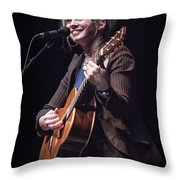 Karin Bergquist Lead Singer Of Over The Rhine Throw Pillow