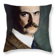 Karl Landsteiner (1868-1943) Throw Pillow