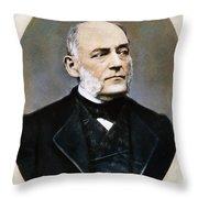Karl Von Rokitansky Throw Pillow