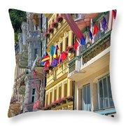 Karlovy Vary Throw Pillow