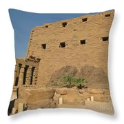 Karnak Egypt Throw Pillow
