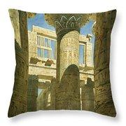 Karnak Throw Pillow