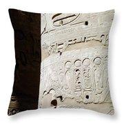 Karnak Temple 11 Throw Pillow