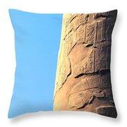 Karnak Temple 21 Throw Pillow
