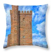 Karnan Helsingborg Painting Throw Pillow