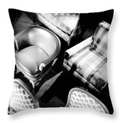 Karpen Chairs Throw Pillow