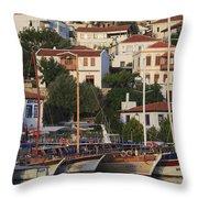 Kas Antalya Turkey  Throw Pillow
