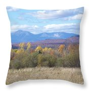 Katahdin From Staceyville 3 Throw Pillow