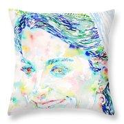 Kate Middleton Portrait.2 Throw Pillow
