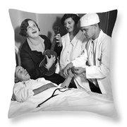 Kate Smith Ether Substitute Throw Pillow