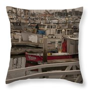Katherine Throw Pillow by Amanda Barcon