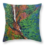 Katherine Falls Throw Pillow