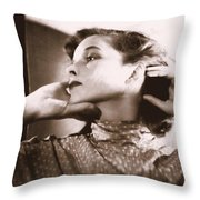Katherine Hepburn Throw Pillow