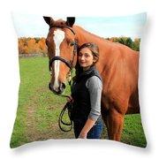 Katherine Pal 12 Throw Pillow