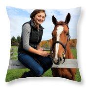 Katherine Pal 16 Throw Pillow